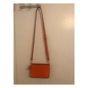 F21 Orange Shoulder bag